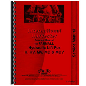 New International Harvester H Industrial Construction Service Manual
