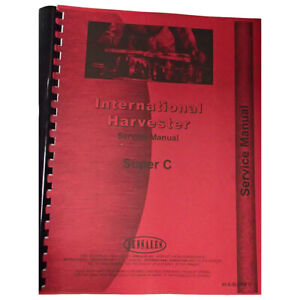 New Farmall Super C Tractor Service Manual