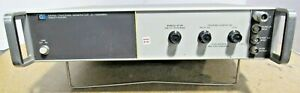 Hp Hewlett packard Model 8444a Tracking Generator 5 1300mhz Power Tested Only