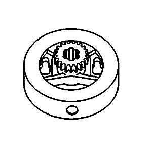 A4028r Clutch Driver Made To Fit John Deere Tractor Model A Ao Ar
