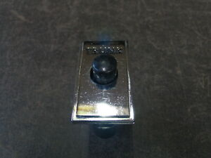 1970 Mercury Cougar Glove Box Trunk Release Button