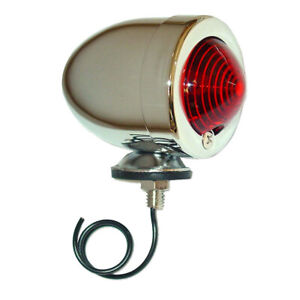 12v 12 Volt Tractor Bullet Style Tail Light For Allis Chalmers B C Ca Wd G Wd45