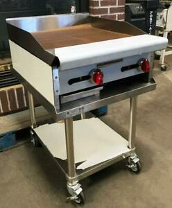 American Range Armg 24 Restaurant Kitchen Equipment Heavy Duty 24 Gas Griddle