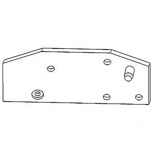 Sway Block Support Plate Right John Deere 2555 2020 2030 1020 2350 2040 2355