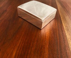 Beautiful Smith Smith Cigarette Box With Hinged Lid No Monogram