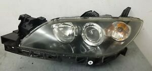 2004 2009 Mazda 3 Mazda3 Driver Lh Left Xenon Hid Headlight Assembly Clean