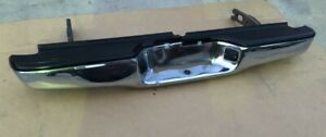 1995 2004 Genuine Oem Toyota Tacoma Rear Black Chrome Bar Bumper Cover Assembly