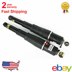 2pcs As2708 Fit Chevy Gmc Cadillac Suv 2000 2011 Rear Air Ride Suspension Shocks