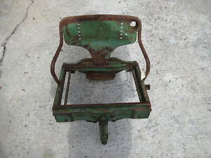 John Deere 720 730 830 Float Ride Seat For Es Electric Start Diesel Rare