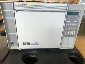 Hp 5890 Series Ii Plus Gc With Hp 5972 Series Mass Selective Detector Msd