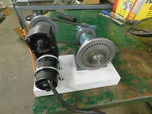 5c Rotary Collet Indexer 110 Volt Motor And Controls