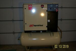 25 horse Power Ingersoll rand Air Compressor on 120 gallon Tank