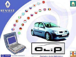 Renault Can Clip V182 Software Downloadable