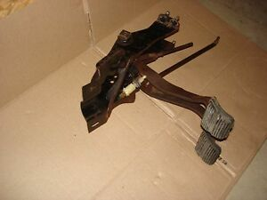 1967 1968 Camaro Firebird Original Clutch And Brake Pedal Set Up Rs Ss Z 28
