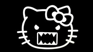 Domo Hello Kitty Jdm Funny Car Truck Window Sticker Decal 544