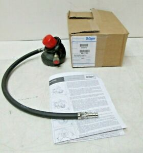 Draeger 3355679 Cbrn Lung Demand Valve W Hose Plug For Pss 5000 7000 Scba Cylin