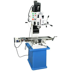 Pm 932m pdf Vertical Milling Machine Power Down Feed with Stand Free Shipping