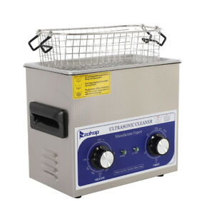 Ultrasonic Cleaner Heater Timer Stainless Jewel Clean Tank Durable And Reliable