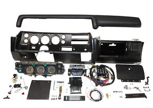 1970 Chevelle Ss Dash Kit Tach Gauges Radio Complete El Camino Heater Non Air