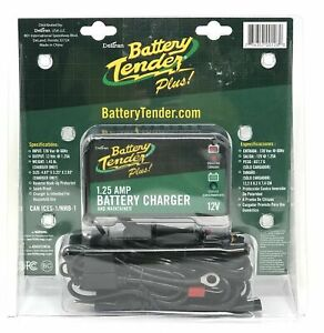 Deltran Battery Tender Plus 12v Charger Boat Lawn Tractor 97th8