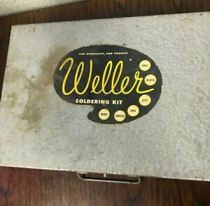 Beautiful Vintage Weller Soldering Kit