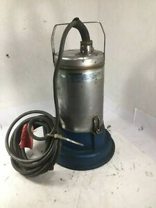 1 Used Lowara Lpn0734 Submersible Pump make Offer