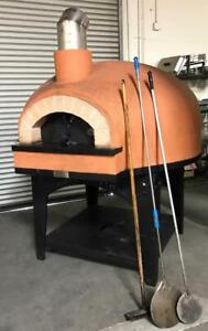 Forno Classico Restaurant Kitchen Equipment Commercial Gas Wood Fired Pizza Oven
