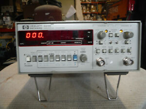 Hp 5315b Frequency Counter 0 1 100 Mhz Time Interval Totalizer