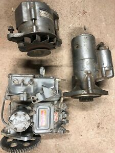 John Deere 855 Fuel Injector Pump Starter Alternator Lot Yanmar 719820 51360