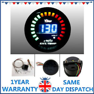 Lntelligent Led Digital Auto Car Egt Exhaust Gas Temp Temperature Gauge Meter Us