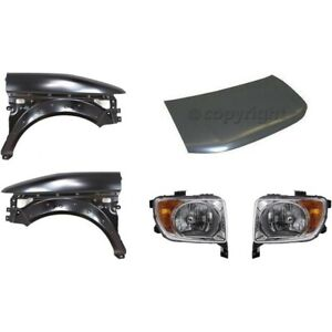 New Kit Auto Body Repair Front For Honda Element 2003 2006