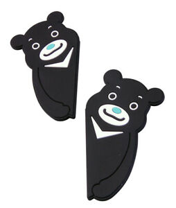 Hypersonic Bear Lovely Car Door Edge Guards Vehicle Black Soft Bumper Protector