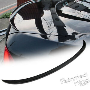 painted 06 11 Bmw E90 3 series M3 Boot Trunk Spoiler Rear Wing Black 668