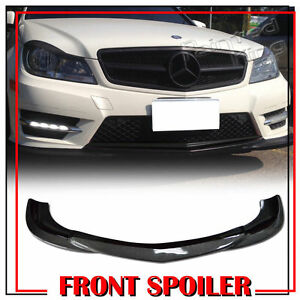 Stock In La Carbon For Mercedes Benz W204 Lci Godhand Bumper Front Lip Spoiler