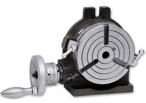 6 Rotary Table Horizontal Vertical Precision Quality