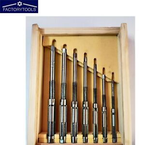 Adjustable Hand Reamer Set Of 7pcs Hv To H3 8 a To 2 a
