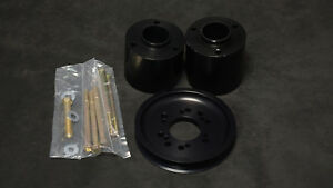 Vortech Supercharger Crank Pulley Assembly Small Block Chevy 5 9 6 rib W hubs