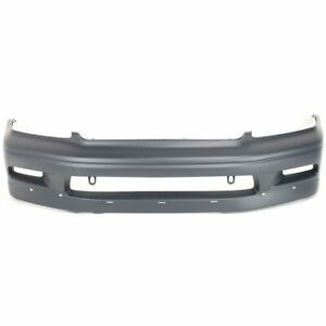 Front Bumper Cover For 2002 2003 Mitsubishi Lancer Oz Rally Model W Hole Ptm