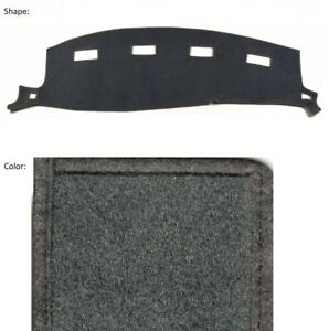 Charcoal Carpet Dash Cover Custom Fit Dodge Ram 1500 2002 2005 11 131 In 02