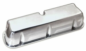 Moroso 68450 Tall Valve Covers Polished Cast Aluminum Sbf Fits Small Block Chevy