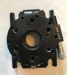 Thorlabs Pr01 m High Precision Rotation Mount M6 And M4 Taps