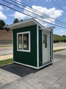 Ticket Booth Event Toll Building Custom Built 6 x8 Very Solid