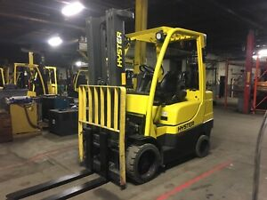 2012 Hyster 7000 Lb Forklift With Side Shift And Triple Mast
