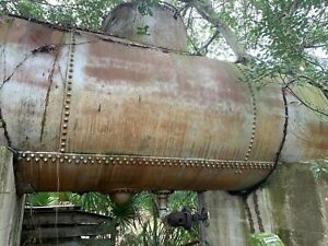 Diesel Fuel Storage Tank 7500 Gallons Cylinder Good Condition Needs Cleaning