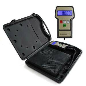 Refrigerant Charging Electronic Scale Digital Electronic Heavyduty Carrying Case