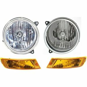 Auto Light Kit New Right And Left Lh Rh Jeep Liberty 2005 2007