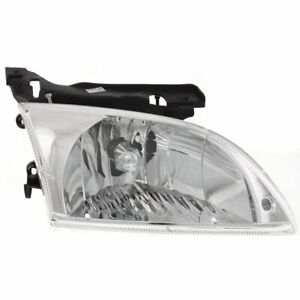 Headlight For 2000 2001 2002 Chevrolet Cavalier Right Halogen W Bulb