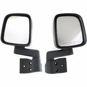 Mirrors Set Of 2 New Right And Left Lh Rh For Jeep Wrangler 2003 2006 Pair