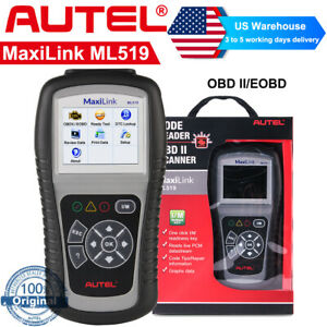 Autel Maxilink Ml519 Auto Diagnostic Tool Obd2 Can Eobd Car Code Reader Scanner