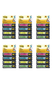 Post it Arrow Flags Assorted Bright Colors 1 2 inch Wide 24 dispenser 6